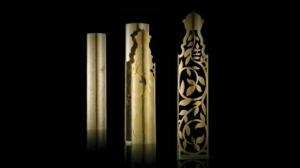 Fiber optic tube laser - ornamental pattern