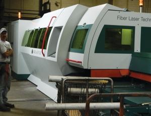 Sharpe Tube Laser Operating